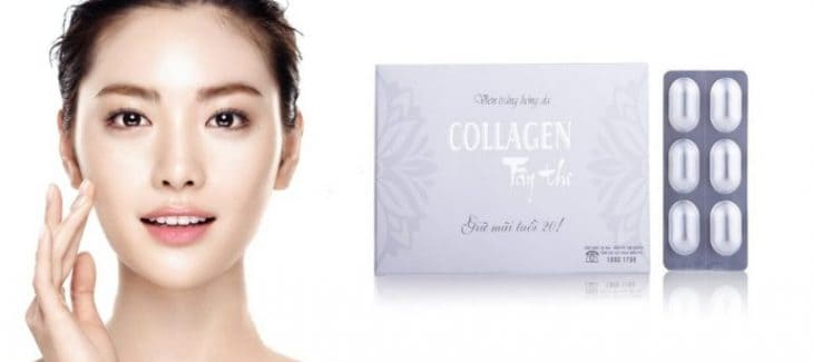 Vien uong collagen Tay Thi 1